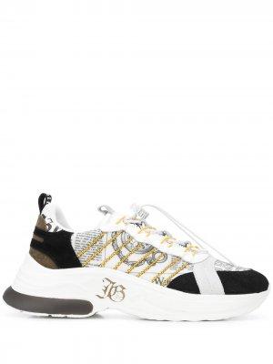 Кроссовки с принтом John Galliano. Цвет: черный