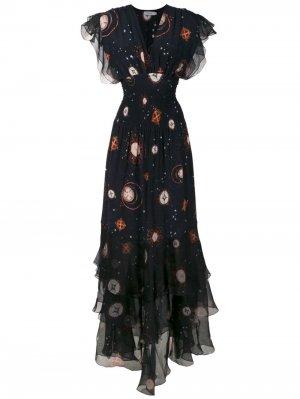 Платье макси Pri Isolda. Цвет: черный