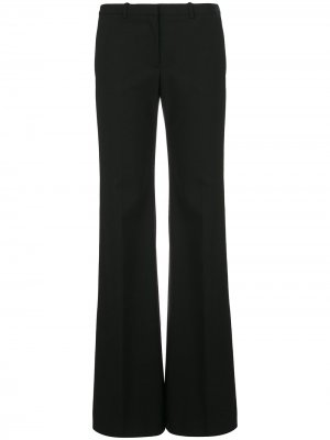 Расклешенные брюки с заниженной талией Theory. Цвет: черный