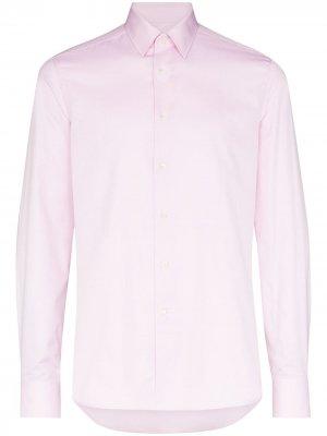 Рубашка с длинными рукавами Canali. Цвет: розовый
