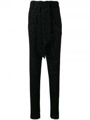 Зауженные брюки Talbot Runhof. Цвет: черный