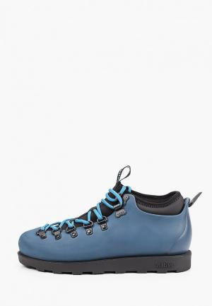 Резиновые ботинки Native. Цвет: синий