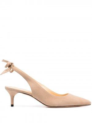 Туфли с ремешком на пятке Alexandre Birman. Цвет: нейтральные цвета