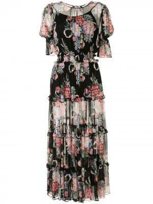 Платье мини Pretty Things Alice McCall. Цвет: черный