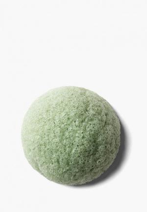 Спонж для макияжа Erborian. Цвет: зеленый