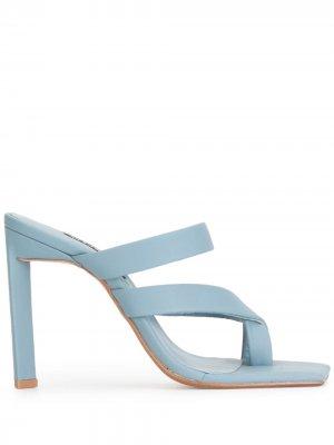 Босоножки с открытым носком Senso. Цвет: синий