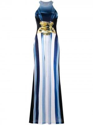 Платье Imaan Mary Katrantzou. Цвет: синий