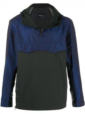 Куртка Back Flip с капюшоном Sease. Цвет: синий