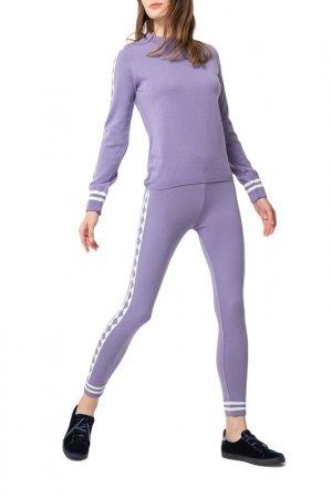 Комплект: свитер, брюки BGN. Цвет: lavander