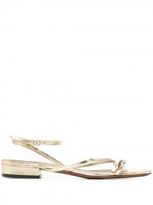 LAutre Chose сандалии с ремешками L'Autre. Цвет: золотистый