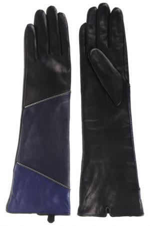 Перчатки Moltini. Цвет: черный