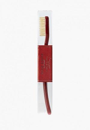 Зубная щетка Acca Kappa. Цвет: бордовый