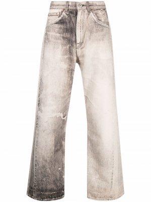 Third Cut digital-print jeans Our Legacy. Цвет: нейтральные цвета