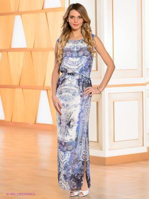 Платье Bandolera. Цвет: белый, синий, фиолетовый