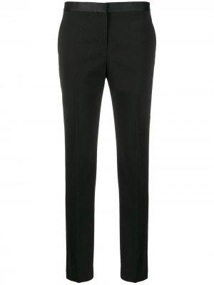 Укороченные брюки строгого кроя Theory. Цвет: черный