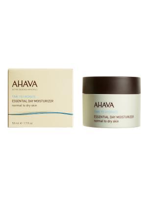 Крем увлажняющий для нормальной и сухой кожи AHAVA. Цвет: прозрачный