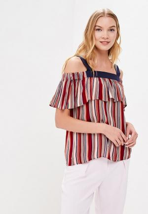 Блуза Sweewe. Цвет: бордовый