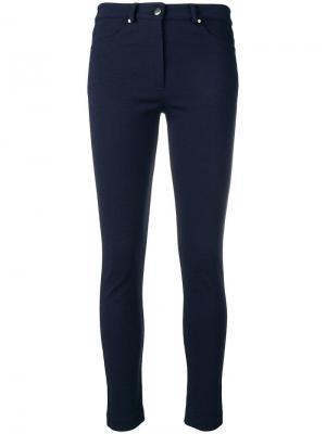 Skinny trousers D.Exterior. Цвет: синий