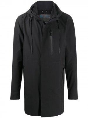 Непромокаемая куртка с капюшоном Moose Knuckles. Цвет: черный