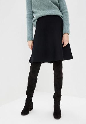 Юбка DKNY. Цвет: черный