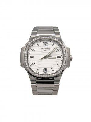 Наручные часы Nautlius Patek Philippe. Цвет: серебристый