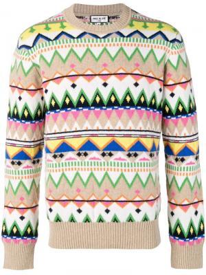 Knitted sweater Paul & Joe. Цвет: нейтральные цвета