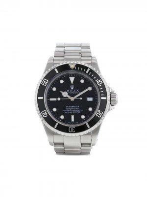 Наручные часы Sea-Dweller pre-owned 39 мм 1997-го года Rolex. Цвет: черный
