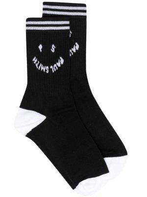 Носки в двух тонах PS Paul Smith. Цвет: черный