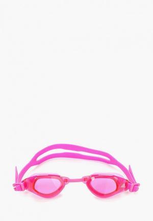 Очки для плавания adidas. Цвет: розовый