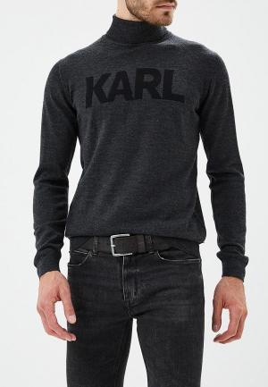 Водолазка Karl Lagerfeld. Цвет: серый