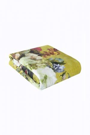 Плед Digital 130X160 Garden Arya home collection. Цвет: желтый