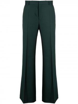 Расклешенные брюки Elephant Walter Van Beirendonck. Цвет: зеленый