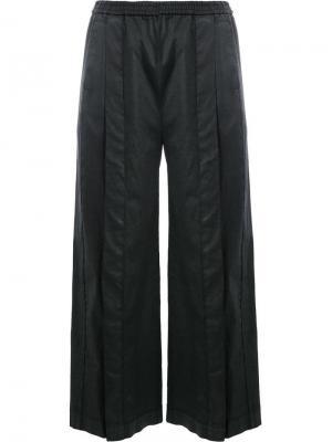 Укороченные брюки со стрелками Ilaria Nistri. Цвет: черный