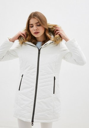 Куртка утепленная CMP. Цвет: белый