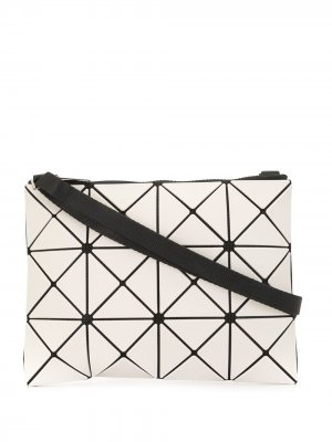 Геометричная сумка через плечо Bao Issey Miyake. Цвет: белый