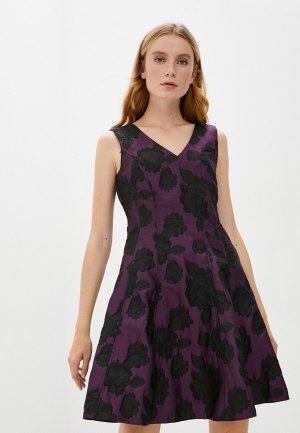 Платье DKNY. Цвет: фиолетовый