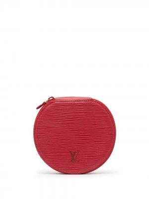 Шкатулка для украшений Épi Ecrin Bijous 12 pre-owned Louis Vuitton. Цвет: красный