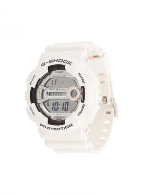 Электронные часы G-Shock. Цвет: белый