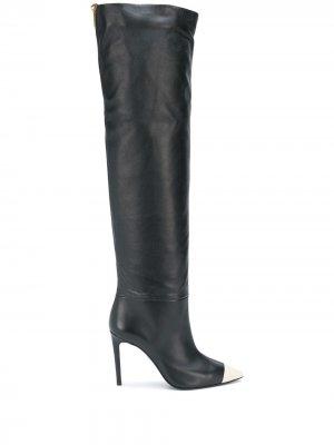 Сапоги с заостренным носком Grey Mer. Цвет: черный