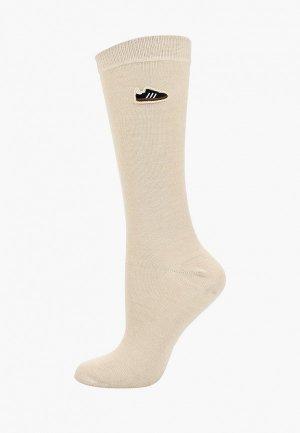 Носки adidas Originals. Цвет: бежевый