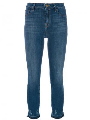 Зауженные джинсы Maude J Brand. Цвет: синий