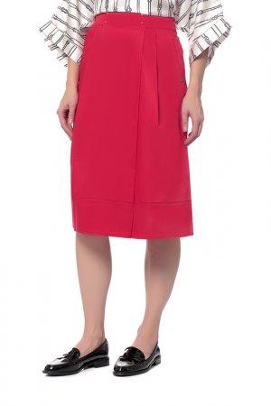 Юбка-шорты Pennyblack. Цвет: красный