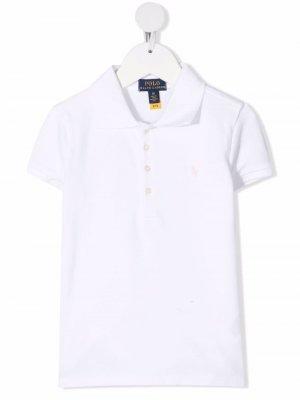 Рубашка поло Polo Pony Ralph Lauren Kids. Цвет: белый