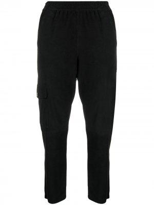Прямые брюки Drome. Цвет: черный