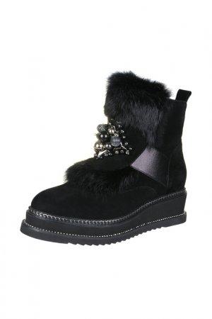 Ботинки RIDLSTEP. Цвет: черный