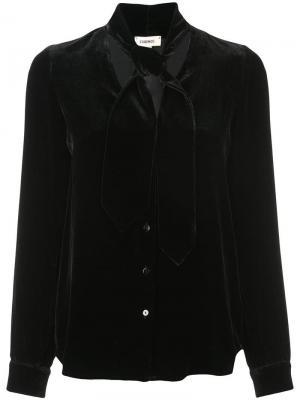 Блузка Gisele L'agence. Цвет: черный