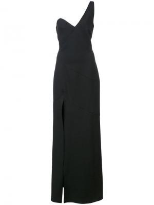 Вечернее платье Giovanna Cinq A Sept. Цвет: черный