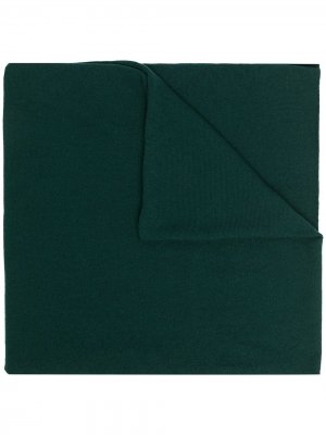 Кашемировый шарф тонкой вязки Pringle of Scotland. Цвет: зеленый