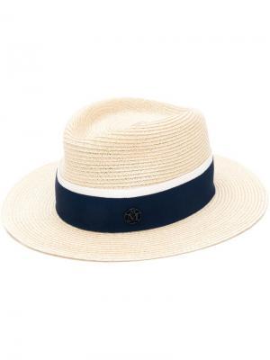 Шляпа André Maison Michel. Цвет: нейтральные цвета