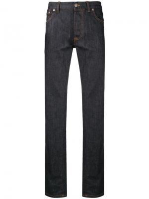 Straight-leg jeans Brioni. Цвет: синий
